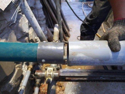 透排水管施工作業