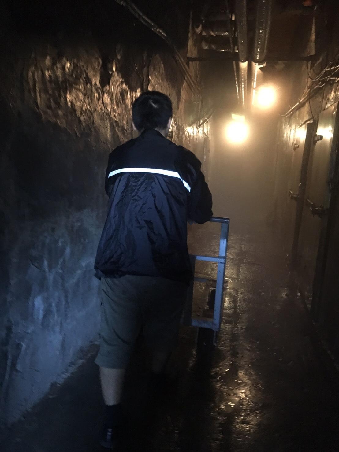 為因應大量冷凍物資,社會局也於三重租借冷凍庫暫時存放