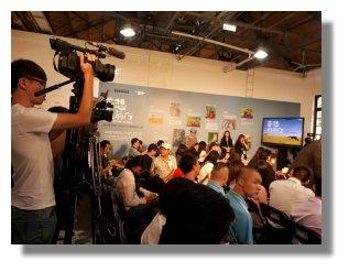現場眾多媒體記者皆蒞臨會場。