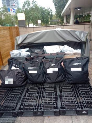 街友友善專用置物袋放置區1