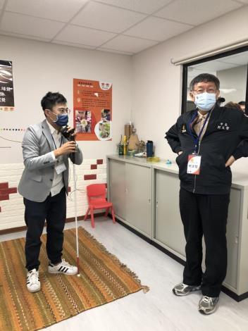 「萬華視障生活重建中心暨社區工坊」開幕活動10