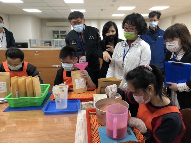 「萬華視障生活重建中心暨社區工坊」開幕活動8