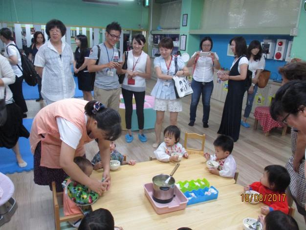 衛福部社家署邀各地方政府參訪臺北市新興托育模式