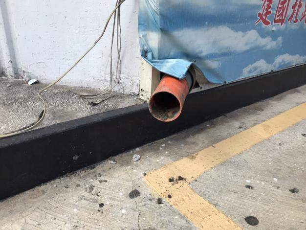 中油建北加油站現場查獲影響及規避查證的管線與設備-2