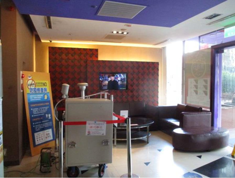 室內空氣品質稽查檢測現場照片-KTV1