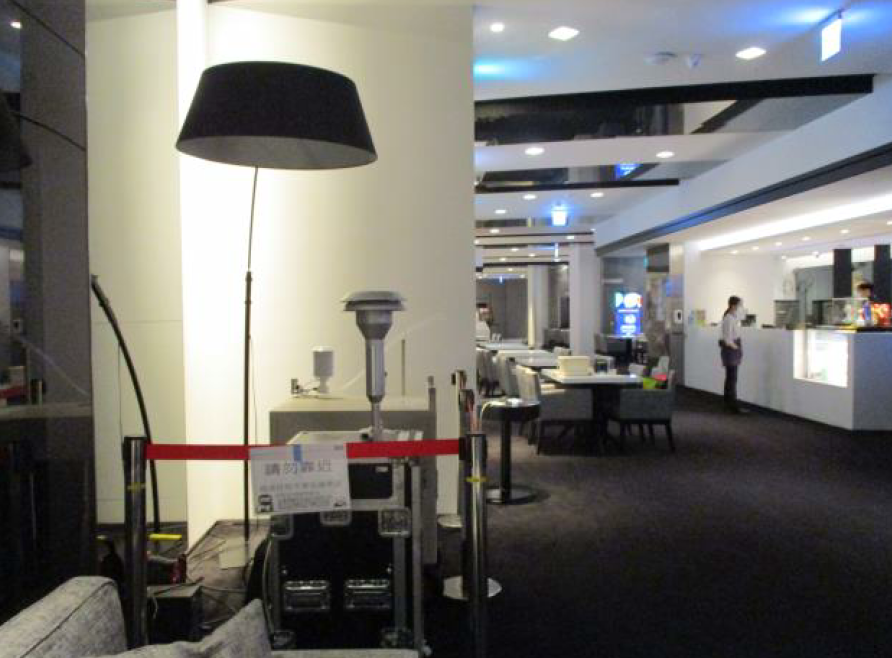 室內空氣品質稽查檢測現場照片-電影院2