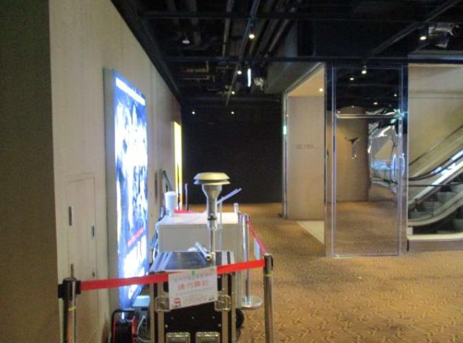 室內空氣品質稽查檢測現場照片-電影院1