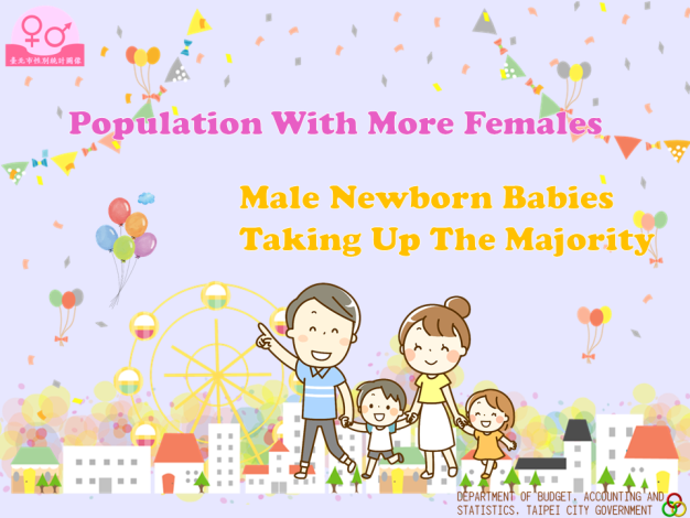 Population With More Females; Male Newborn Babies Taking Up The Majority