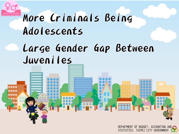 More Male Criminals for Chimes; Big Gender Gap for Juvenile Offenders