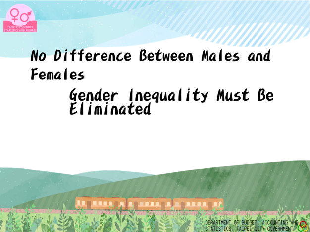 No Difference Between Males and Females, Gender Inequality Must Be Eliminated
