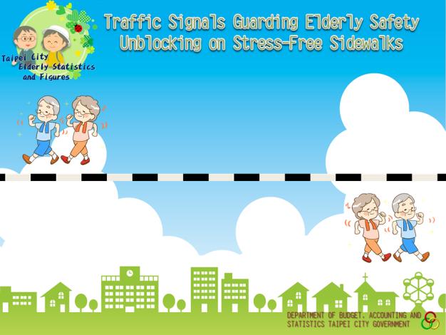 Elderly Unblocking on Stress-Free Sidewalks, Specific Traffic Signals Guarding the Safety