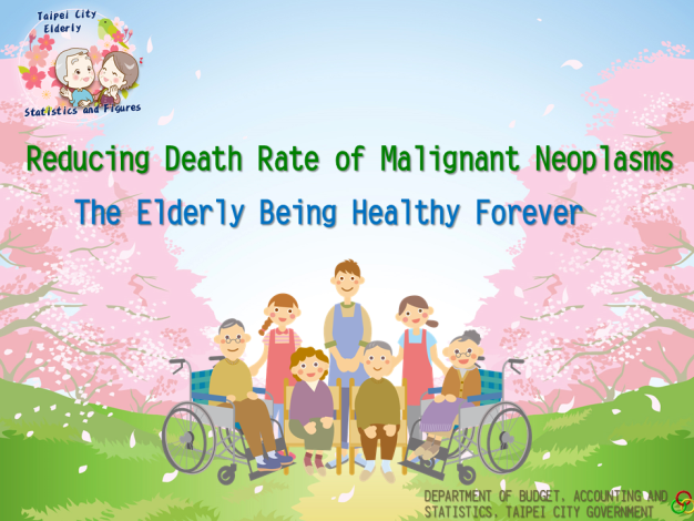 Reducing Death Rate of Malignant Neoplasms, The Elderly Being Healthy Forever