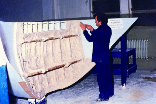 照片2翡翠大壩模型於義大利進行安全試驗情形