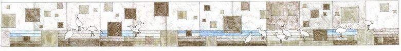 三和國中站藝術牆版圖