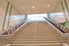 往穿堂層樓梯示意圖