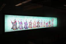 軌道側牆燈箱示意圖,共5張圖片