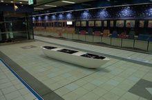 捷運‧碼頭示意圖-地坪配合鋪成水藍色