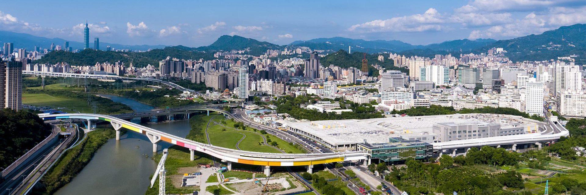 施工中的台北捷運環狀線