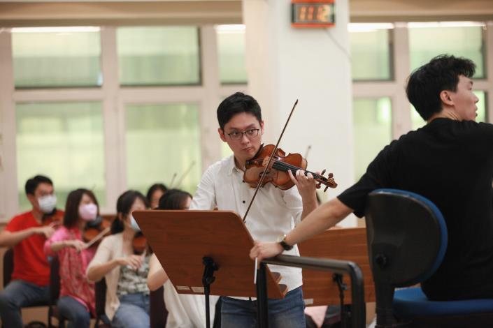 TSO《樂聖風情日》指揮廖國敏、小提琴曾宇謙 3