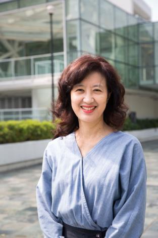 The Photo of Director of Taipei Fine Arts Museum Ping Lin