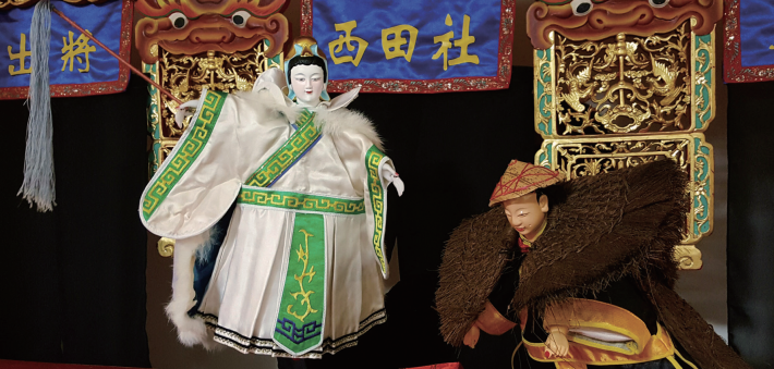 2018/4/14  Glove Puppetry-Legend of A-Hua-Dan of Tamsui