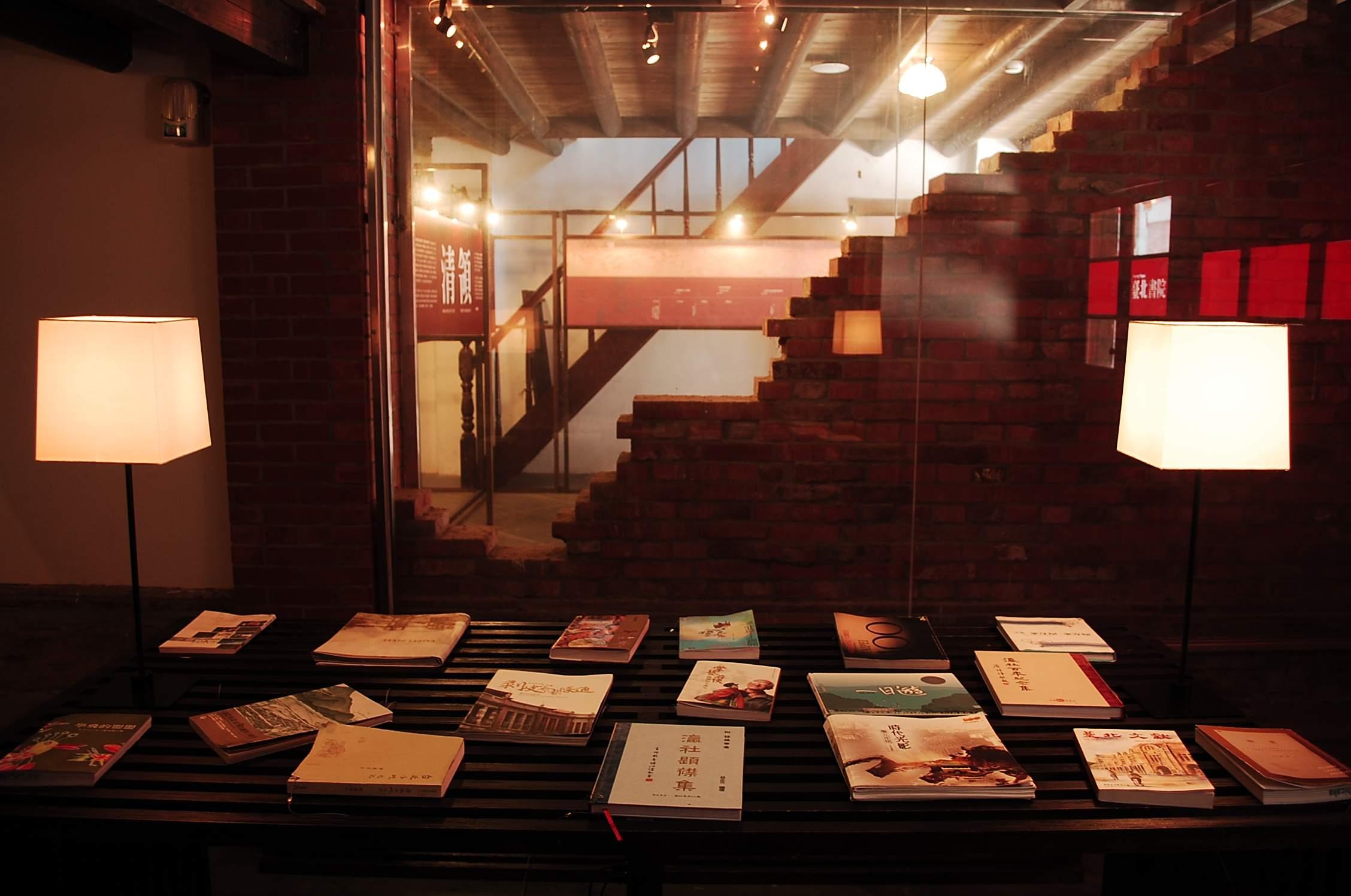 圖表:「臺北書室」展間
