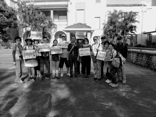 戶外導覽-文明的腳跡-臺北城內導覽第7組