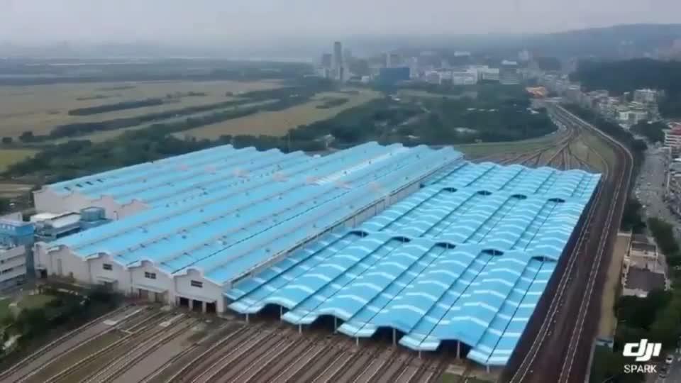 北投機廠空拍畫面