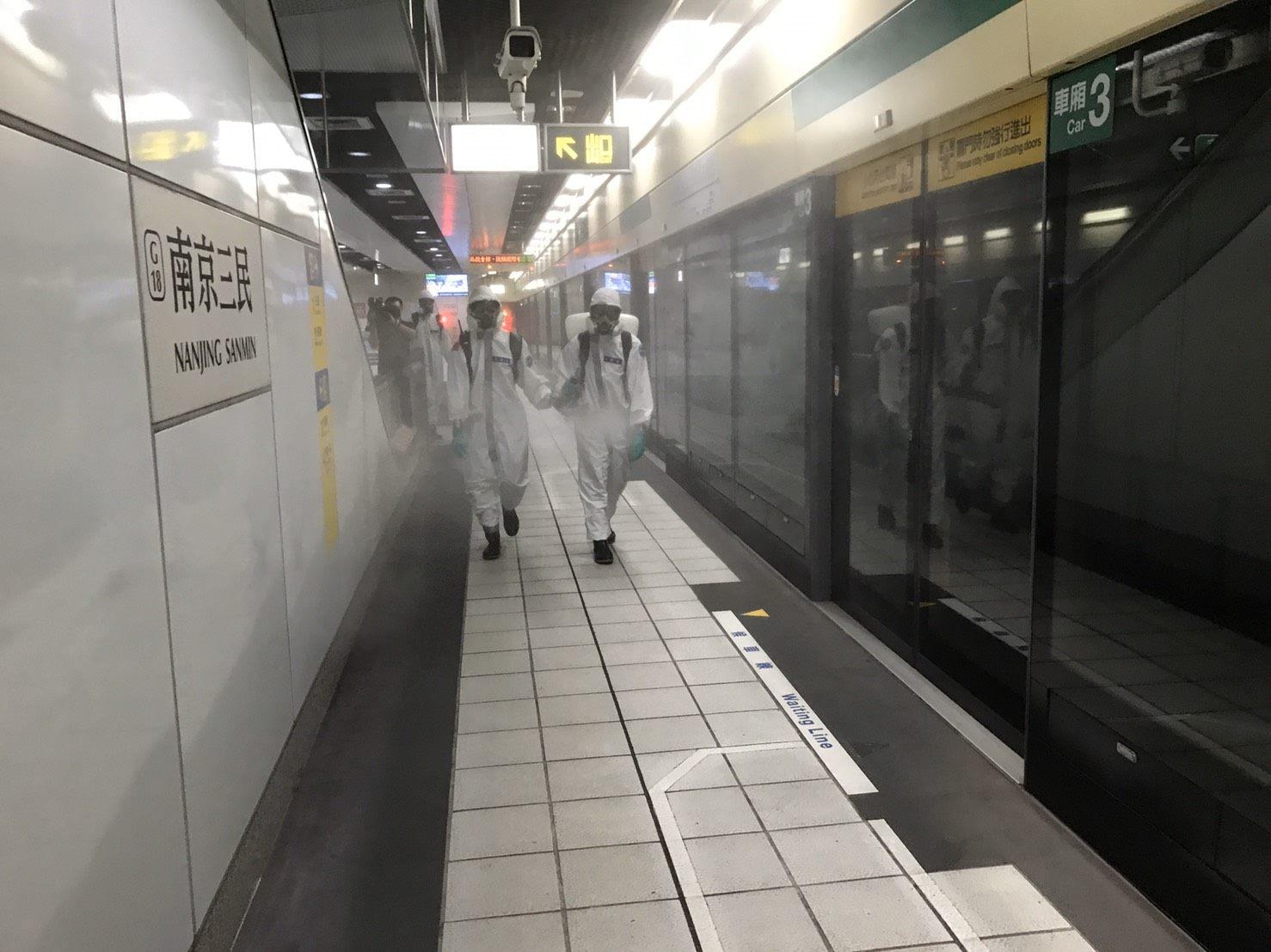 化學兵車站清消照片06