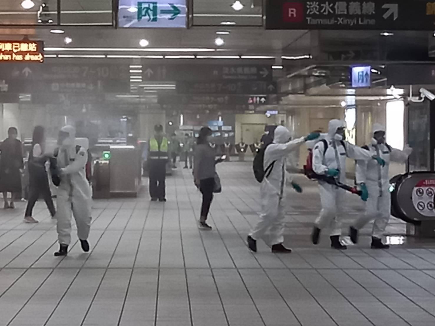 化學兵車站清消照片03