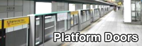 Safeguards for Passengers Waiting on Platforms --- Platform Screen Doors
