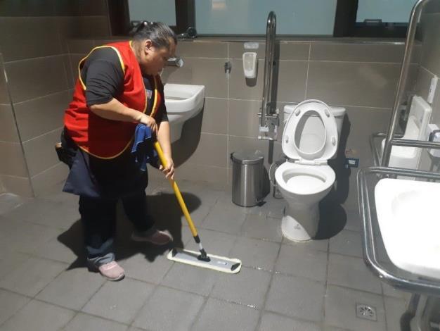 廁所環境清潔