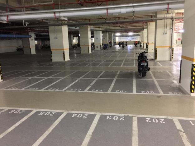 環南中繼市場B1機車停車場