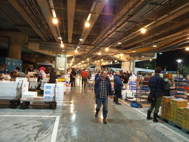 萬大魚市中繼交易狀況1