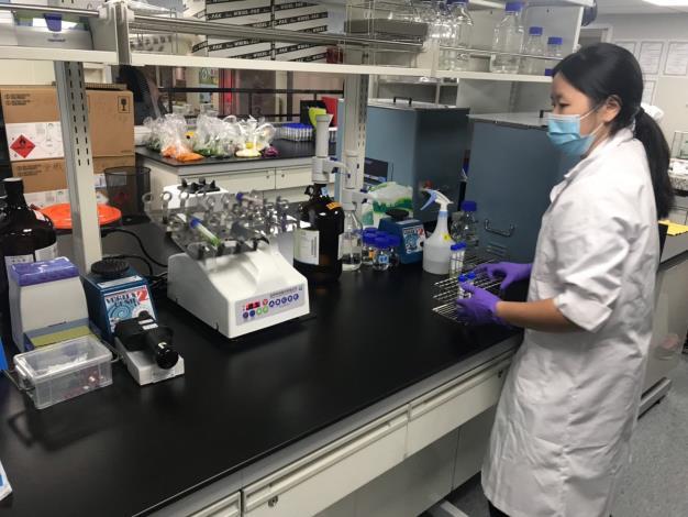 化學質譜快檢檢驗過程1