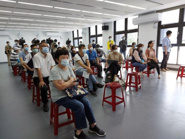 大龍新城住戶參加記者會