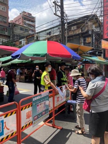 民眾使用台北通入場