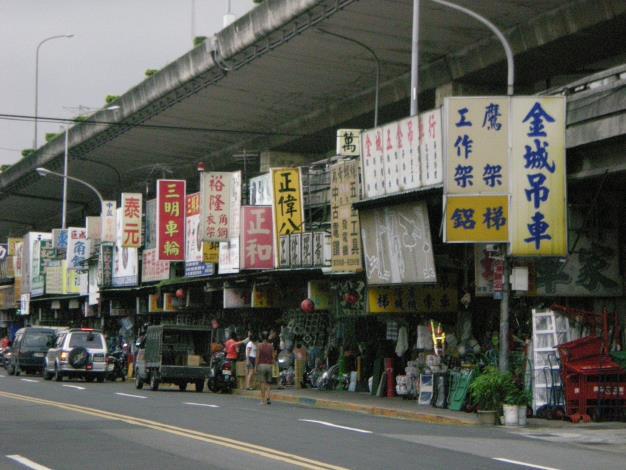 臺北市公有河濱二商場