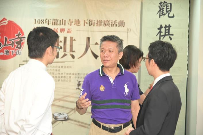 1080821局長與媒體有約-108年度龍山寺地下街推廣活動相片