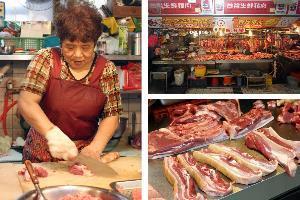 光復市場.老杜豬肉