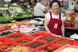 蘭州市場.126醬菜攤