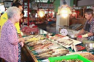 永吉市場.許記鮮魚攤