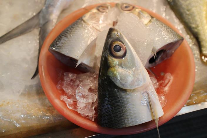 虱目魚頭是家庭主婦們的最愛