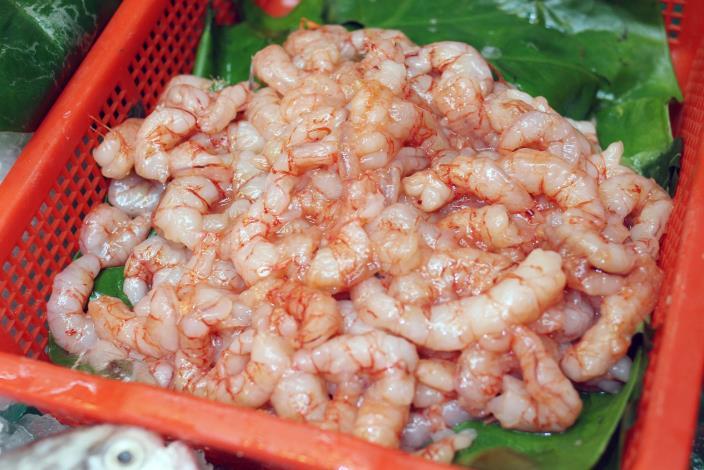 各式海鮮和魚貨
