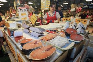 臺北魚市零批理貨場.5排9號攤