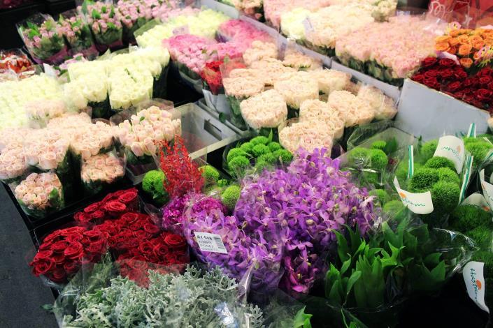 台北花市․福盛園藝、福蓉花卉