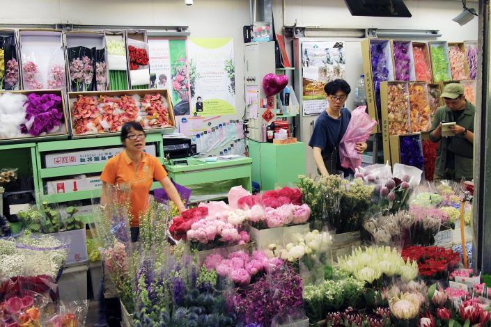 台北花市․花星鮮花批發中心