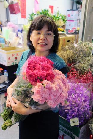 台北花市-1417號攤