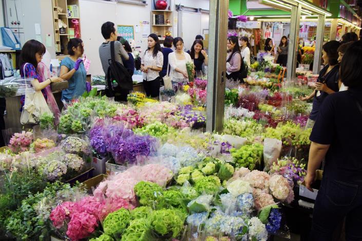 台北花市-深綠花卉
