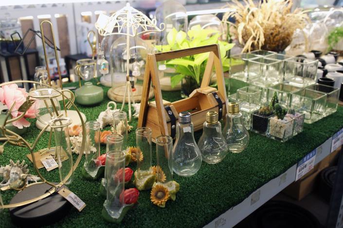 玻璃花器是魔晶球植栽的好搭檔